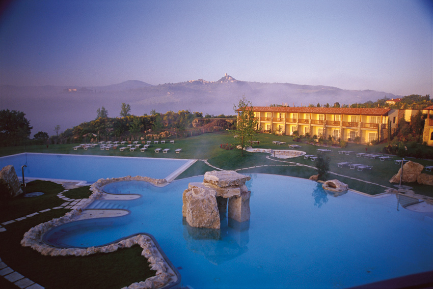 L'Adler Thermae Spa & Relax Resort in Val d'Orcia